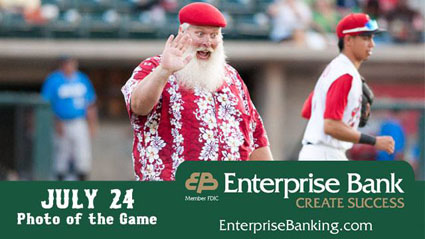 Enterprise Bank Santa Claus Boston
